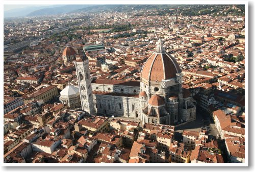 Florence Italy - Duomo - NEW World Travel Poster