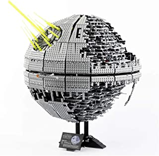 Super Large Airship Model Building Block Kit, Death Star Small Particle Puzzle Assembly, Difficult Challenge for Adults An...