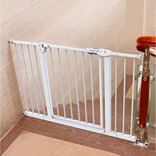 Baby Gates Stairs Safety Dog Gates Pet Fence Metal, Window Balcony Guardrail Fence Children Safety Protective Pressure Mou...