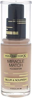 Max Factor Miracle Match Foundation , Porcelain 30