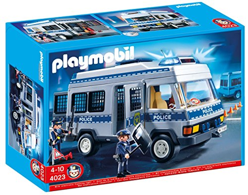 PLAYMOBIL City Action - Furgón de policía (626563)