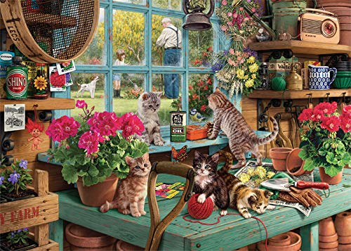 1000 piece puzzles of cats - 3