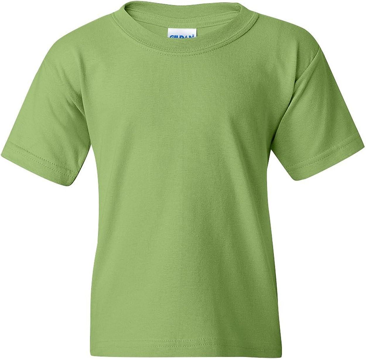Heavy Cotton T-Shirt (G500B) Kiwi Green, M (Pack of 12)