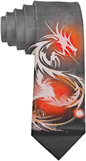Men's Polyester Slim Neckties, mal Valentine's Day Party Suit Neckties