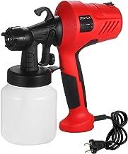 Festnight Electric Paint Sprayer Removable High-pressure Paint Spray Gun Adjustable Air and Paint Flow Control UK Plug