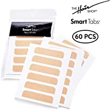 The Hair Shop Smart Tabs Tape-In Hair Extension Tape - Professional Strong No-Residue Bonding Double-Sided Replacement Tape for 100% Remy Human Hair Extensions (4 cm x 0.9 cm)