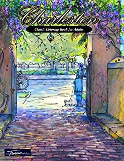 Charleston: Classic Coloring Book for Adults