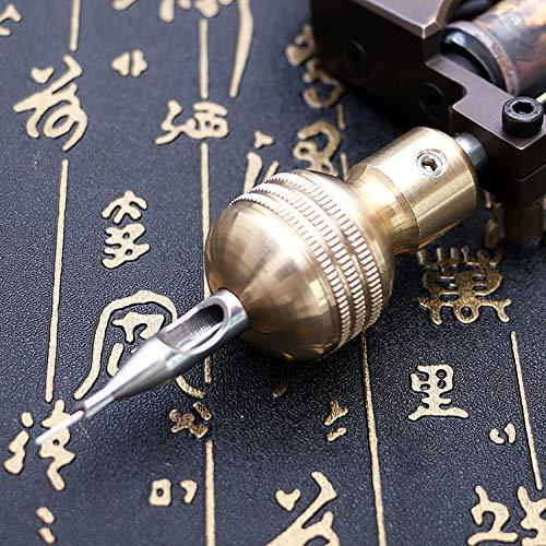 TENGGO Aluminiumlegierung Gp Griff Griffe Rohr Selbstsichernde Kit Tattoo Zubehör Maschine