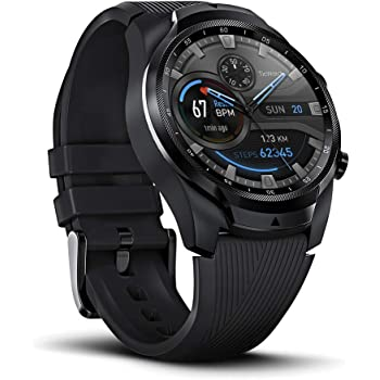 TicWatch Pro 4G LTE Cellular Smartwatch GPS NFC Wear OS by Google Android and Fitness Tracker