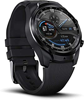 Ticwatch Pro 4G/LTE, Dual Display Smartwatch, Swim-Ready, Long Battery Life, Cellular Connectivity for Verizon Phone Plan Users Available, Only Available in US