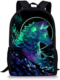 Xinind Cool Printing Bag,Backpack Lunch Bag Pencil Bag 3 Bags a Set,Polyester Bag For Boys Girls Study Bag