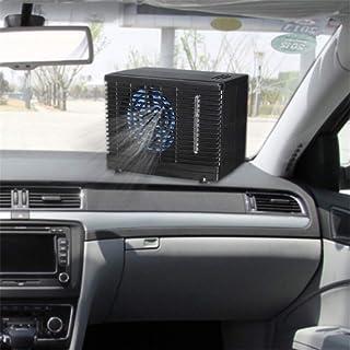 CXJC Acondicionador De Aire Portátil para Automóviles 12 V Ajustable 60 W Acondicionador De Aire para Automóvil Enfriador Ventilador De Enfriamiento De Agua Y Hielo Evaporativo