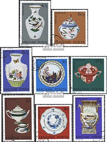 Prophila Collection Ungarn 2795A-2802A (kompl.Ausg.) gestempelt 1972 Herender Porzellan (Briefmarken für Sammler)