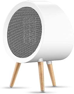Jiareq1 Calefactor Ventilador Personal Calentador El Espacio en Blanco Personal del Ventilador Calentador eléctrico Calentador de Punta a Fuego sobre Protección Home Office 800W