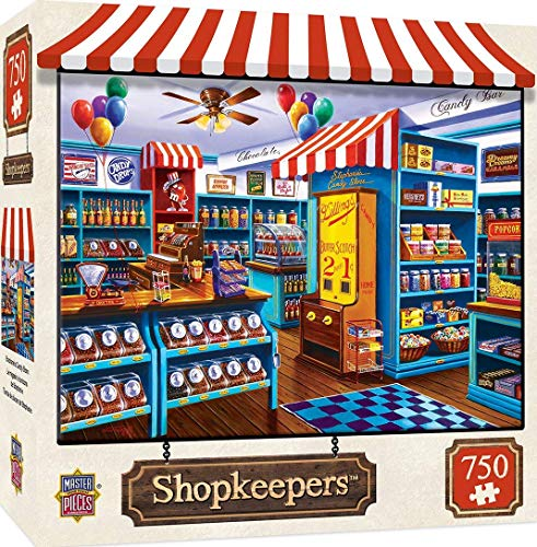 Master Pieces Puzzle 750 Teile - Stephanie's Candy Store