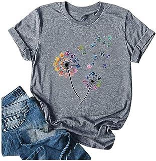 Jnifuli Womens Dandelion Shirt