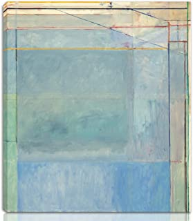 Berkin Arts Richard Diebenkorn Stretched Giclee Print On Canvas-Famous Paintings Fine Art Poster Reproduction Wall Decor-Ready to Hang(Untitled)#NK
