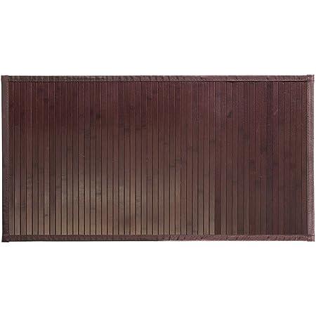 iDesign Tapete, tamaño Mediano, Color café, Bambú, 86 x 53 cm
