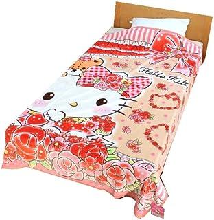 キティ 毛布 マイクロファイバー毛布(G73-8860) (・シャイニーローズ)
