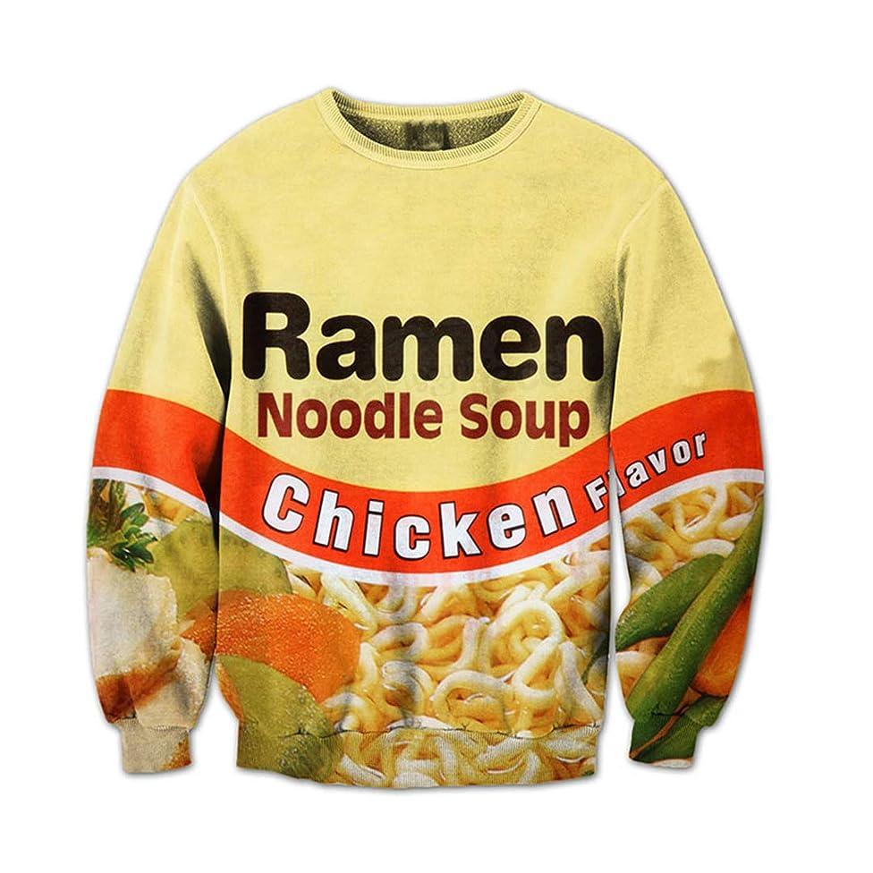 Shrimp Ramen Food 3D All Over Printed Crewneck Sweatshirts Sweatpants Tracksuits Streetwear Women Men Sets