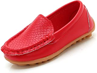 YWPENGCAI Toddler Slip-on Shoes Boys Loafers Candy Colors Girls Moccasins