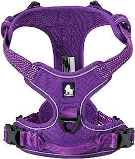 TRUE LOVE Adjustable No-Pull Dog Harness Reflective Pup Vest Harnesses Comfortable Control Brilliant Colors Truelove TLH56...