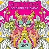 The Tula Pink Coloring Calendar: 2017