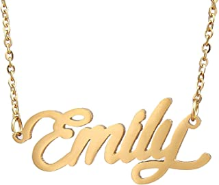 emily necklace rose gold