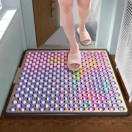 Desinfectie Vloermatten Entreematten Schoenzolen Deurmatten Automatische reiniging Huishoudelijke voetmatten Huisartefacten (83 * 45 cm),83 * 45cm