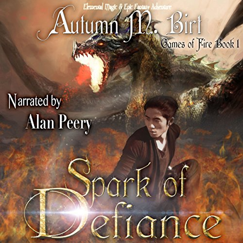 Spark of Defiance audiobook cover art