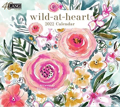 BRAND NEW WILD AT HEART 2021 POCKET PLANNER CALENDAR LANG ART 03188