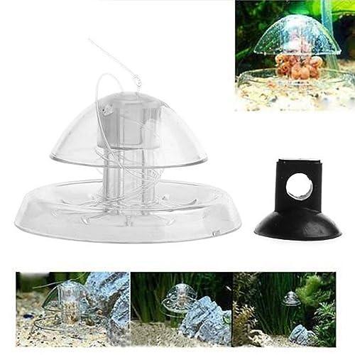 UEETEK Trampa de caracol plástico Snai Catcher para acuario de acuario de agua
