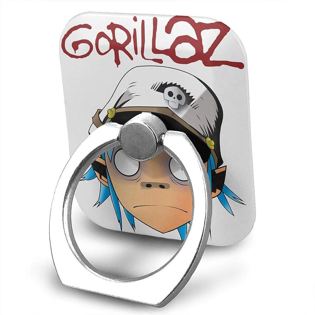 同時プライバシーアヒルGorillaz Park Live スマホ リング ホールドリング 指輪リング スクエアス 薄型 おしゃれ スタンド機能 落下防止 360度回転 タブレット/スマホ IPhone/Android各種他対応