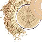 bellapierre Banana Setting Powder   Lightweight Color-Correcting Powder with All Day Makeup Protection   Eliminates...