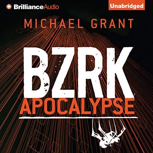 BZRK Apocalypse audiobook cover art