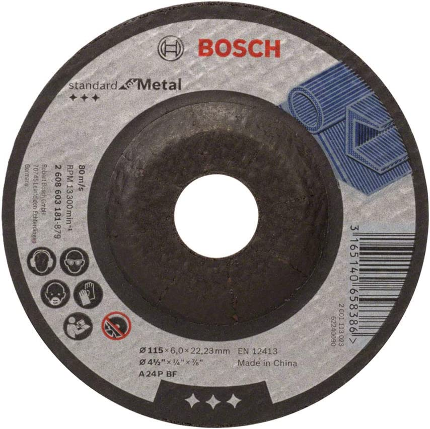 Tucson Mall Bosch 2608603181 Standard for Metal Depressed with Disc Max 68% OFF Grinding