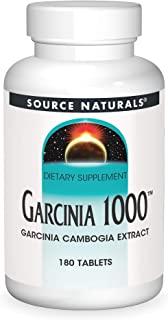 Source Naturals Garcinia 1000 mg Garcinia Cambogia Extract - 180 Tablets