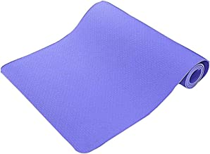Eco Friendly Non Slip Fitness Exercise Yoga Mat Tp Thic Yoga Mat Anti-Sli Fitnes Portabl Exercis Mat Compressio Resistanc Workou Pad Loos Weigh Swea Absorbin Pilate Mat Fo Home Aerobic Gymnastics