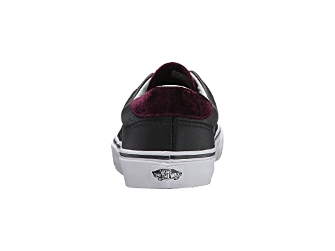 Vans Era 59 (Velvet) Black/Red Geniue Stockist Sale Online ojO5rl