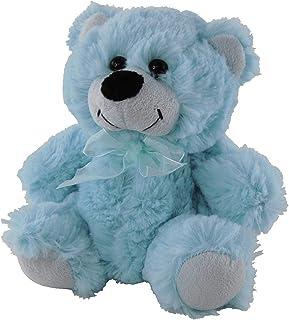 Elka Australia 76201-18BL Jelly Teddy Bear Soft Plush Toy, Light Blue, 18 Centimeters