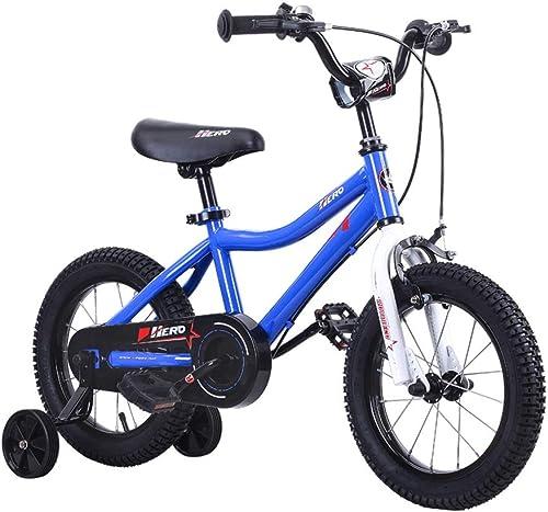 Kinderfürr r 12, 14, 16 Zoll fürr r Blaues fürrad des Jungen 2-4-6-8 Jahre Alte mädchenfürr r Sicheres Dreirad Für Kinder Geschenk Für Kinder