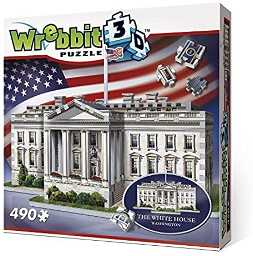 Wrebbit 3D The Weiß House - 3D Jigsaw Puzzle (490 Pieces) by
