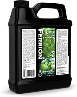 Brightwell Aquatics Ferrion, Iron Supplement for Marine Fish & Reef Aquaria, 2 L