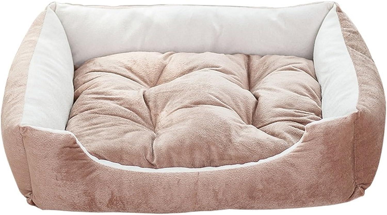 KTYX Kennel Cat Litter Summer Small Dog Medium Large Dog Bed Dog Mat Pet Mat Four Seasons Universal Pet Supplies Pet Bed (Size   S)
