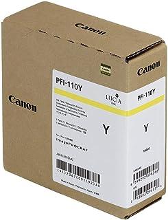 Genuine Canon Ink Tank PFI-110Y - Yellow 160ml - 2367C001AA