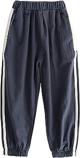 ZRFNFMA Ropa para niños Pantalones Casuales Moda Primavera y otoño Pantalones Casuales Medio y Grandes Pantalones para niñ...
