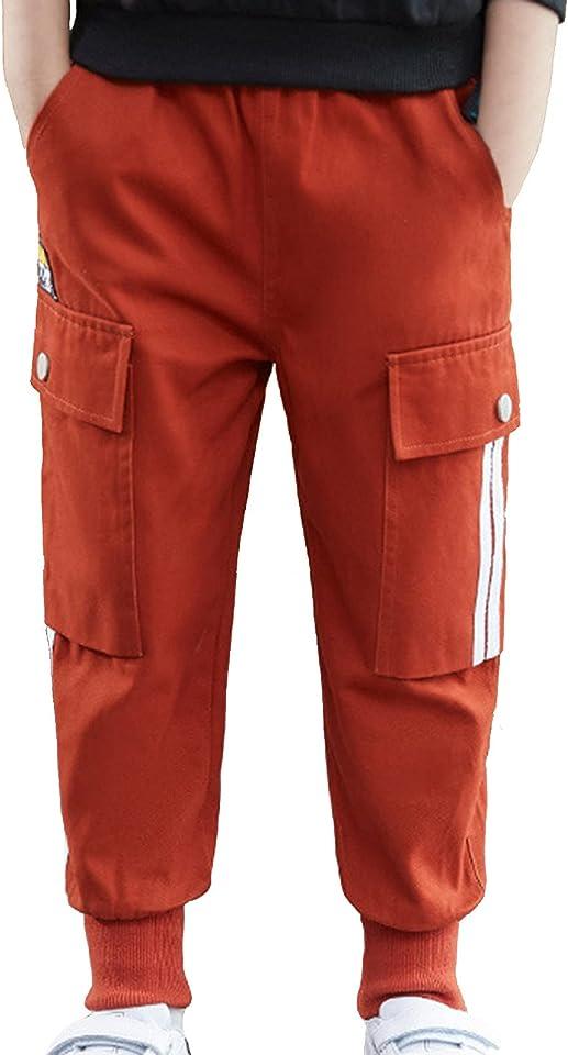 Kinder Camouflage Hosen für Jungen Mädchen Jogginghose Cargohose Sport Jogger Trainingshose Hip Hop Freizeit Loungehose Trousers