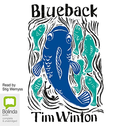 Blueback audiobook cover art