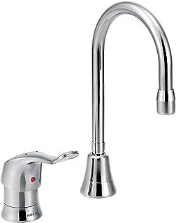 Moen 8137 Commercial M-Dura Single-Handle Multi-Purpose Faucet with Spout 2.2 gpm, Chrome