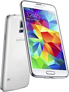 Samsung Galaxy S5 - G900-16GB - GSM Unlocked - Android Smartphone (White)